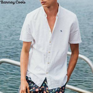 Barney Cools -  Micro B Embroidered Button-up